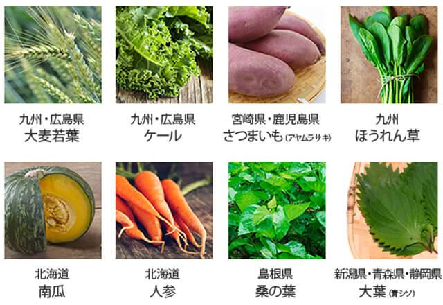 ララリパブリック 野菜