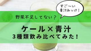 野菜不足 ケール 青汁