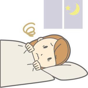 高温期 眠れない